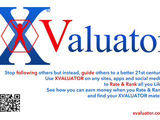Show now you are an XValuator