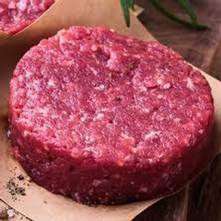 Yak Burger Patties 12-1 lb packs