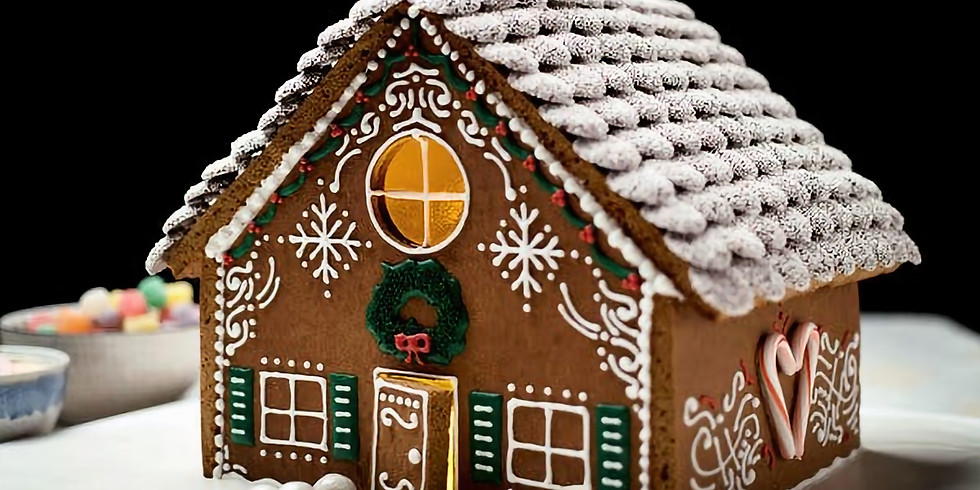 Gingerbread House Decorate and Drink