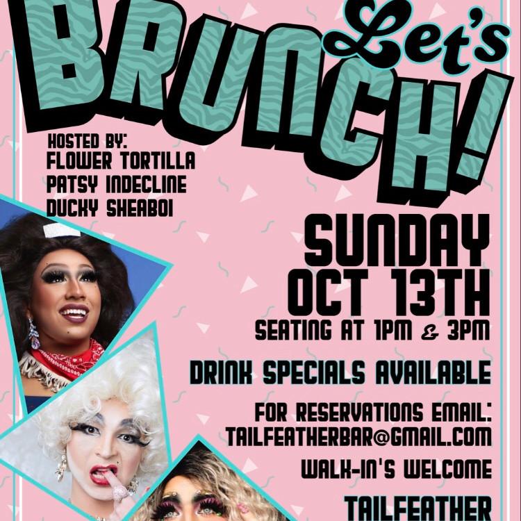 Let's Brunch!  1pm seating