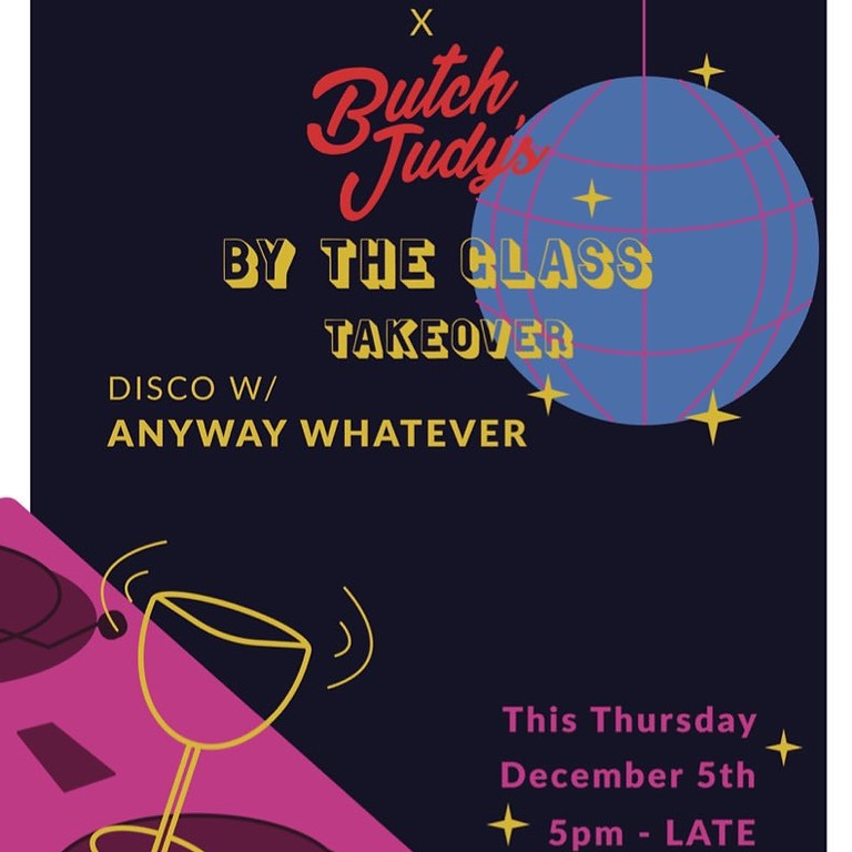 Thirsty Disco with Butch Judy's