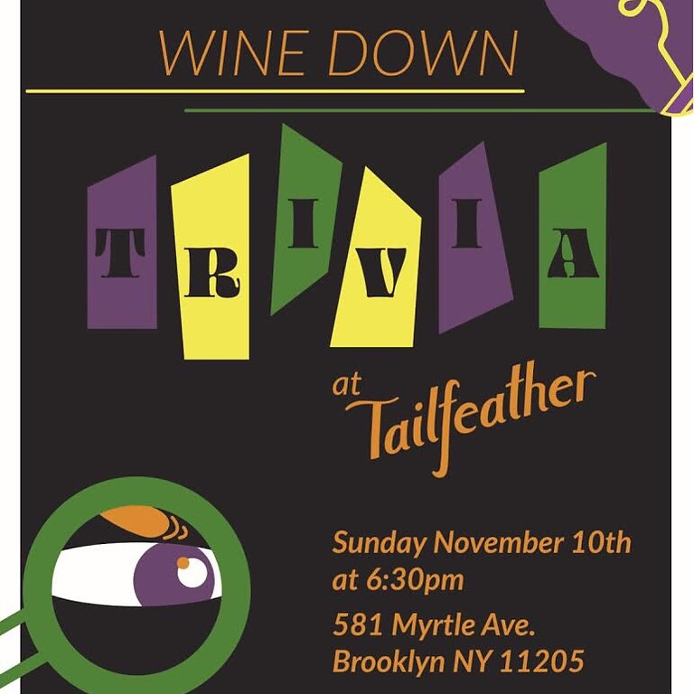 Wine Down The Weekend With Trivia!