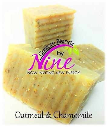 Oatmeal & Chamomile Facial & Body Soap