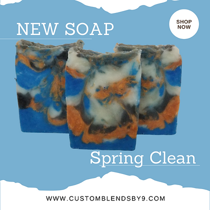 Spring Clean Double Butter Soap