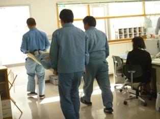 負傷者救護補助訓練2