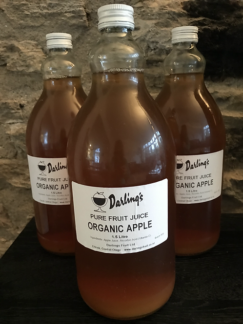 Darling's Organic AppleJuice - bottles