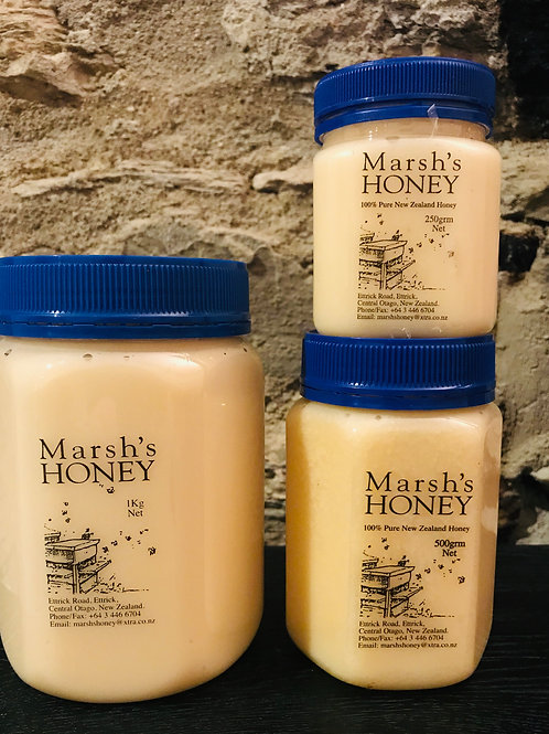 Marsh's Creamed Honey 1kg