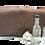 Thumbnail: Wrap Closure, Vintage Brown leather, 5 bottle case