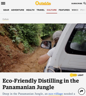 Outside Magazine Kalu Yala Distillery Feature