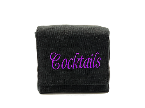"""Cocktails"" Mini 3 bottle case"