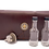 Thumbnail: Concho closure, Cognac Brown leather, 5 bottle case