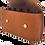 Thumbnail: Saddlebag, Russet leather,   5 bottle case