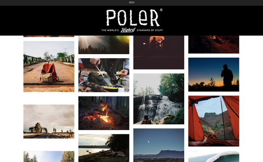 Poler Tumblr Design and Photography