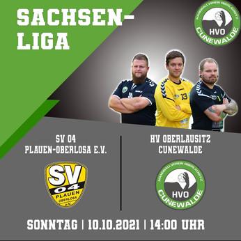 Auswärtsspiel in Plauen - Cunewalde will punkten!