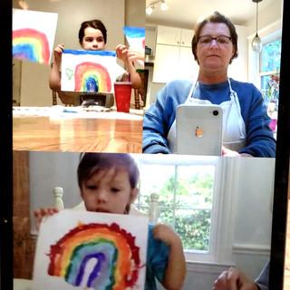 Online Art Class With Kids Around The World