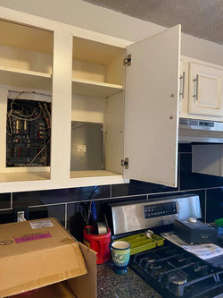 Get your kitchen off my panel box