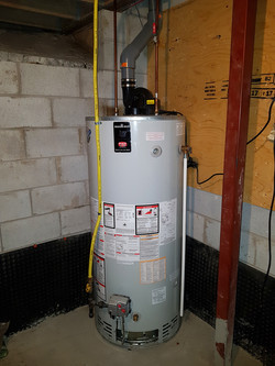 Water Heater, Inspected by SiteGuard