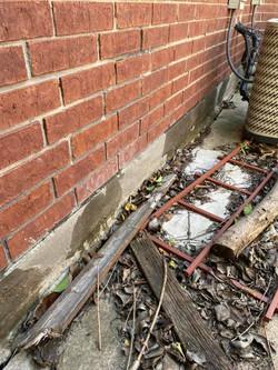 Foundation slab leak