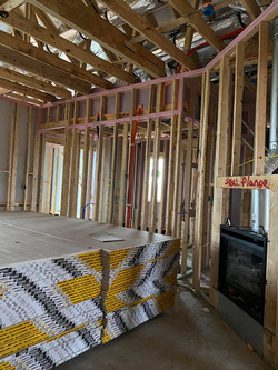 New construction pre dry wall