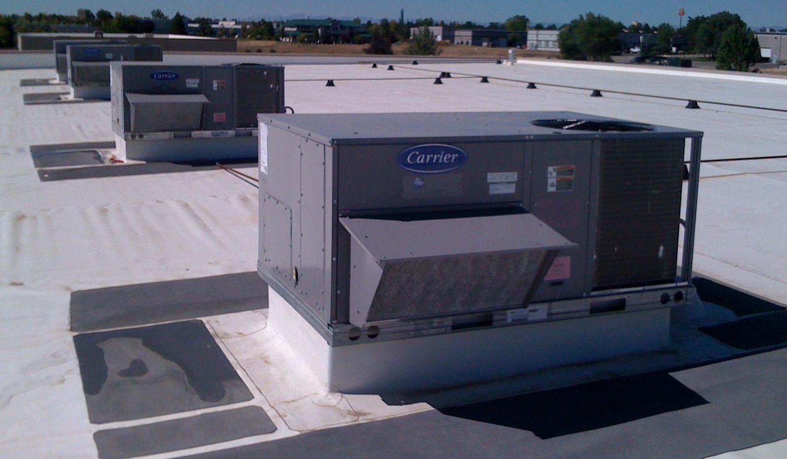 Multi-unit Commercial HVAC