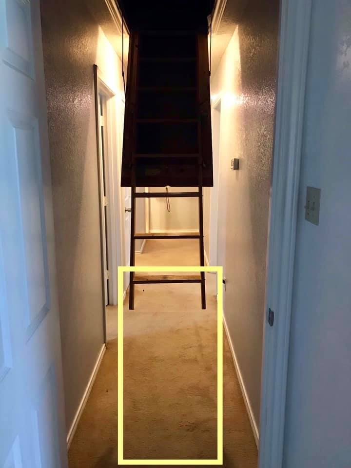 Missing Attic Ladder
