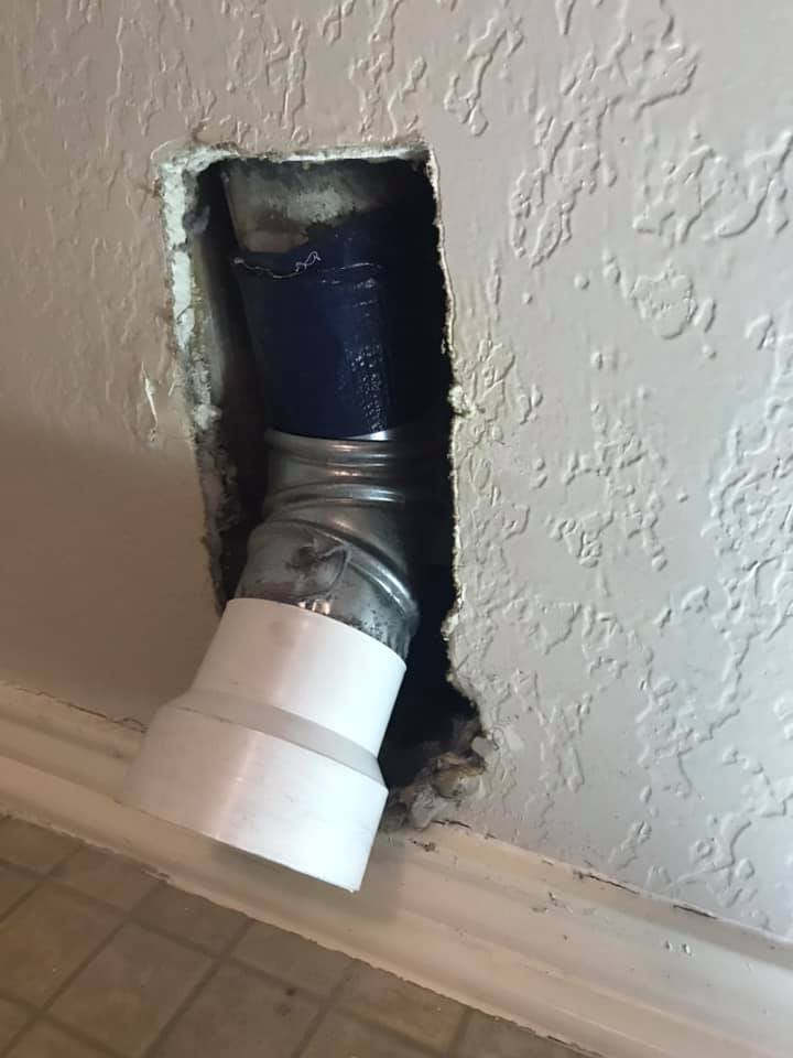 DIY Dryer Hookup Gone Wrong