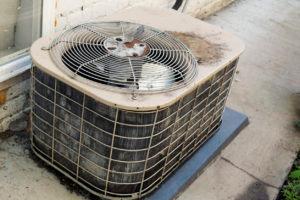Older HVAC Condenser