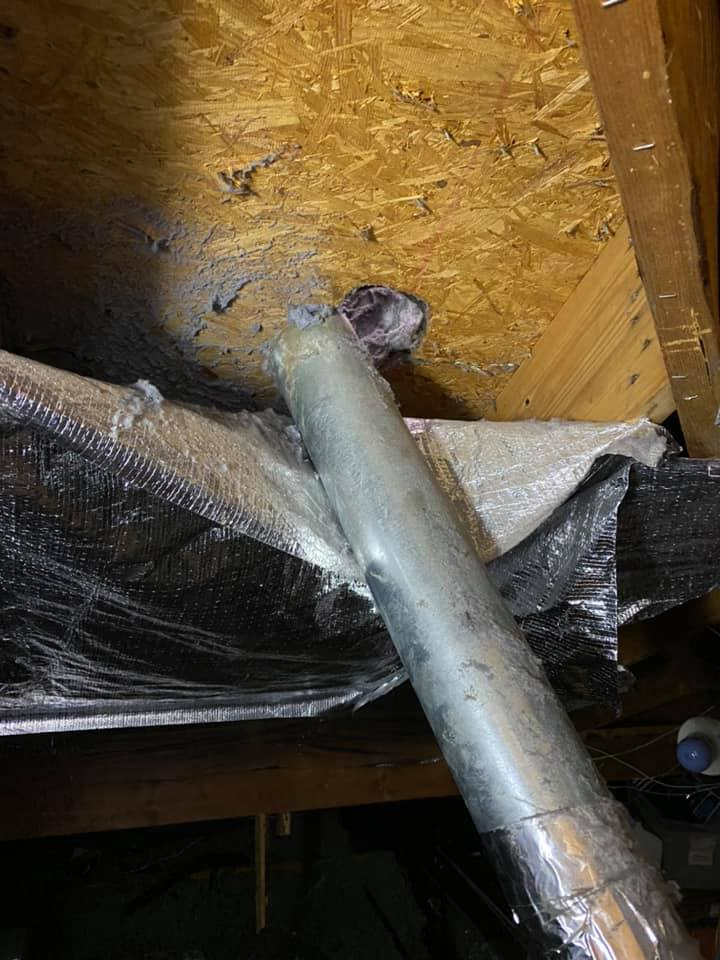Dryer vent termination