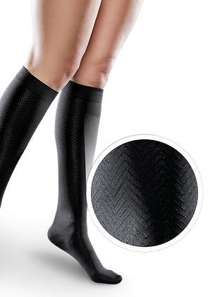 Microfiber Compression Knee Highs, Ease by Therafirm