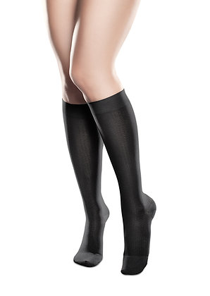 Compression Knee Highs for Women, Sheer Ease by Therafirm