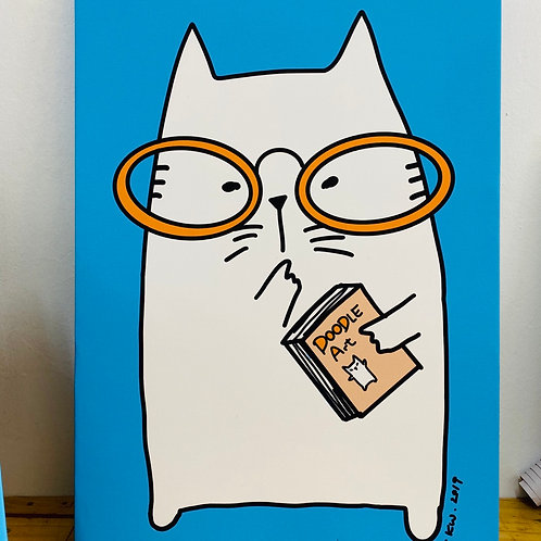 Canvas frame - Doodle Art (A2 size)