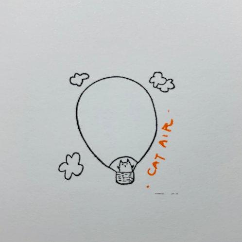Catdoo Cat Air balloon