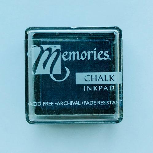 Memories Chalk Inkpad - Soothy Blue