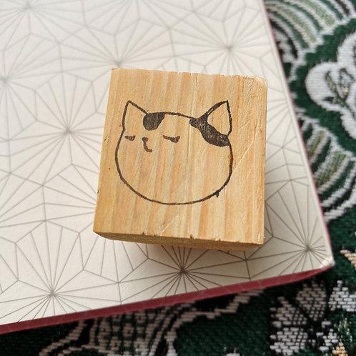 Catdoo rubber stamp - Neko icon - Thinking