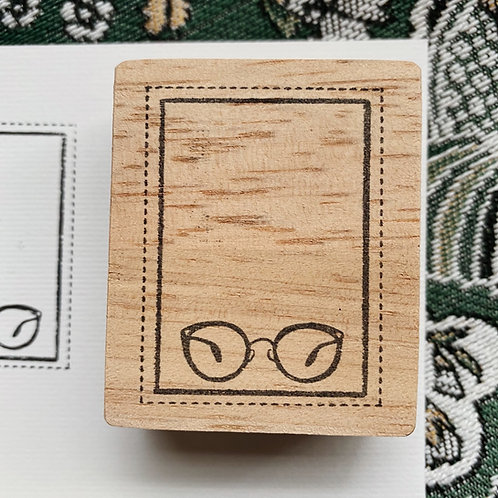 Catdoo label stamp - My spectacle