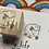 Thumbnail: Catdoo rubber stamp - 'A cat's daily life' - Knitting Meow
