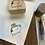 Thumbnail: Catdoo rubber stamp - Neko & Book - Neko delivery