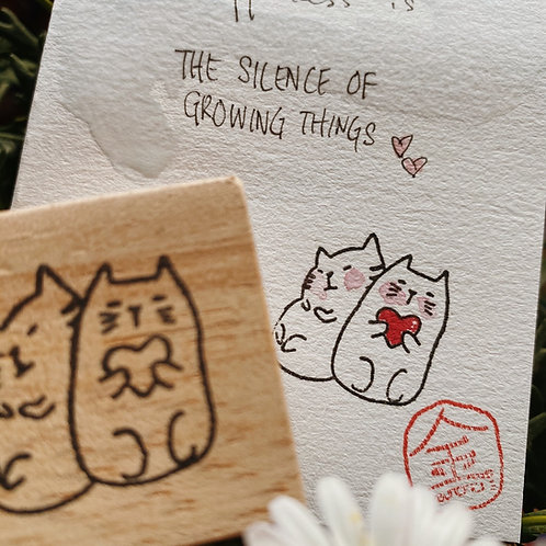 Catdoo Rubber Stamp - Loving you