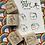 Thumbnail: Catdoo rubber stamp set - Neko&book series 2 set