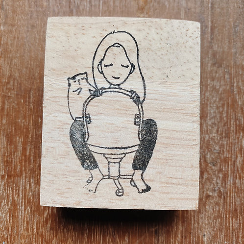 Catdoo rubber stamp - Mi&Meow series vol.2 -play with meow