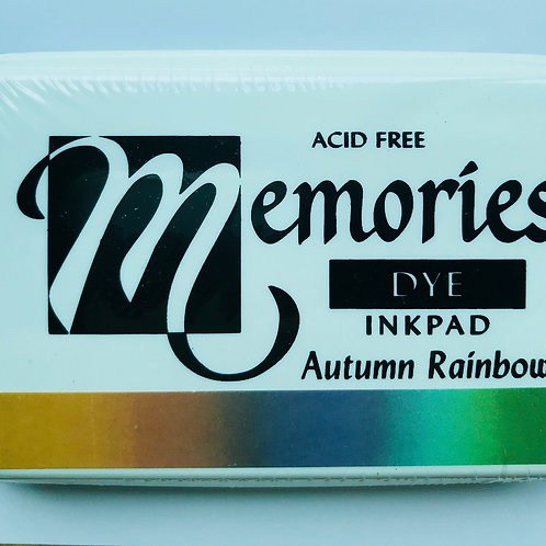 Memories Dye Inkpad - Autumn Rainbow