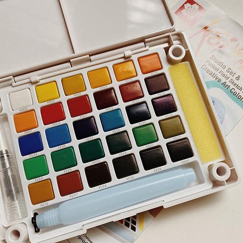 Sakura Koi Watercolors Sketch Box 30c