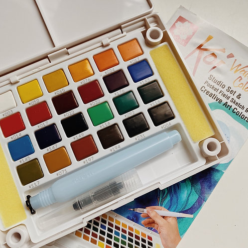 Sakura Koi Watercolors - Sketch Box 24c