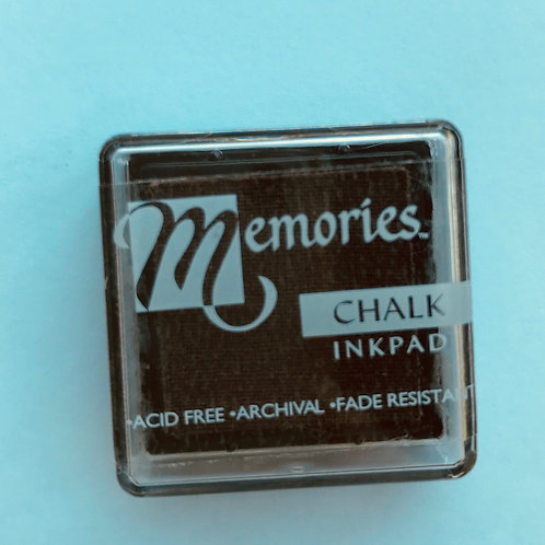 Memories Chalk Inkpad - Creamy Coffee