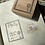 Thumbnail: Catdoo label stamp - Collection series - Frame with Antique key