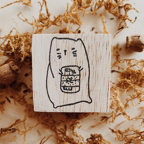 Catdoo rubber stamp - New Journal