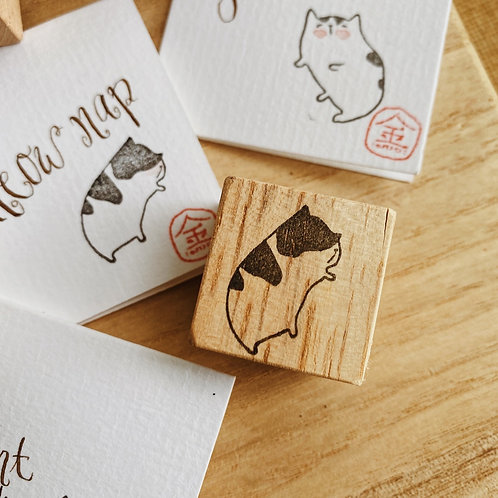 Catdoo Rubber Stamp - Meowww nap