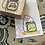 Thumbnail: Catdoo rubber stamp - Purrfect book stamp