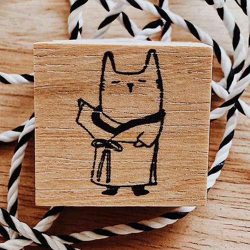 Catdoo Rubber Stamp - Traditional clothing