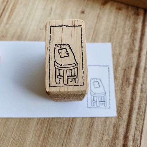 Catdoo rubber stamp - meow ipad